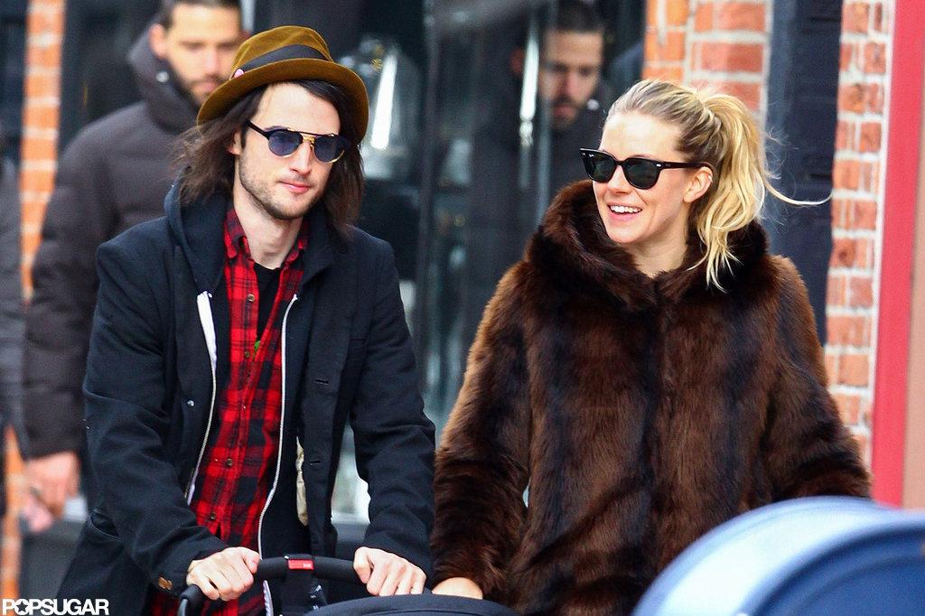 Sienna Miller and Tom Sturridge explored NYC.