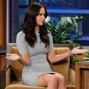 Jennifer Lawrence on Tonight Show With Jay Leno (Video)