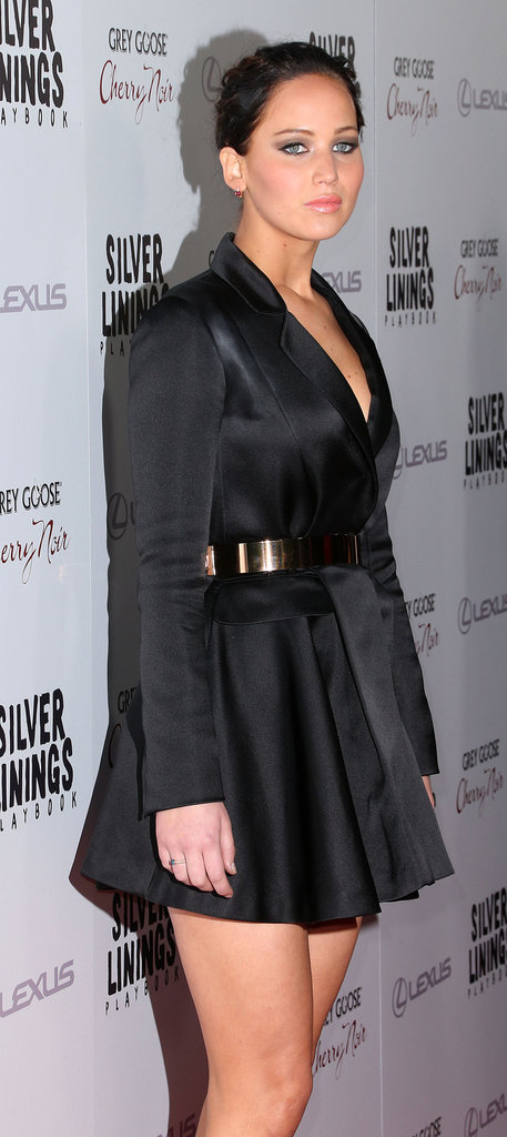 Jennifer Lawrence hit the red carpet at the Silver Linings Playbook LA premiere.