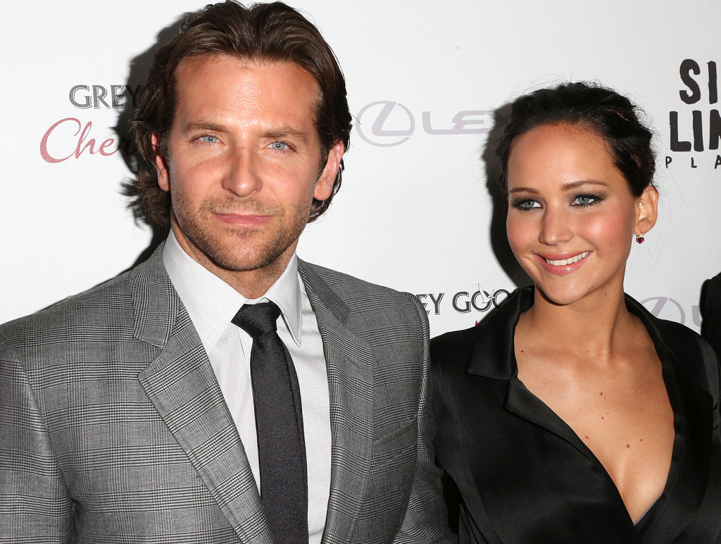 Jennifer Lawrence and Bradley Cooper linked up at the Silver Linings Playbook LA premiere.