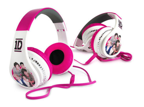 For 7-Year-Olds: One Direction Headphones