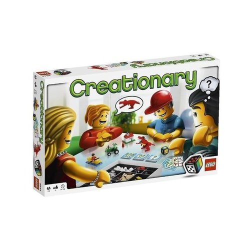 For 7-Year-Olds: Lego Creationary Game