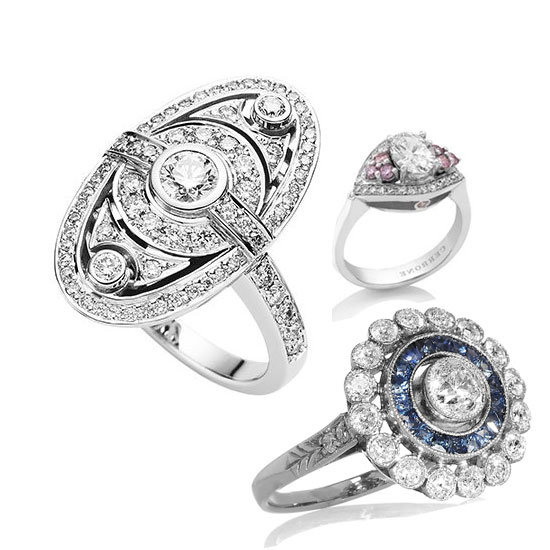 Top Ten Most Beautiful Art Deco Engagement Rings
