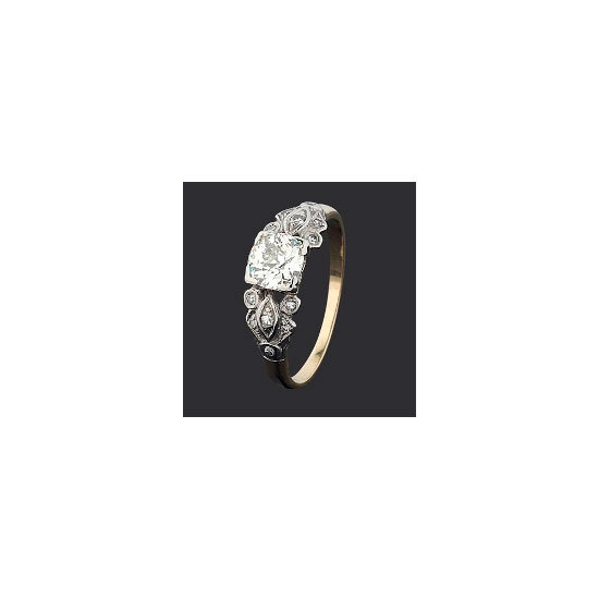Vintage diamond ring, $5,990, Chilton's