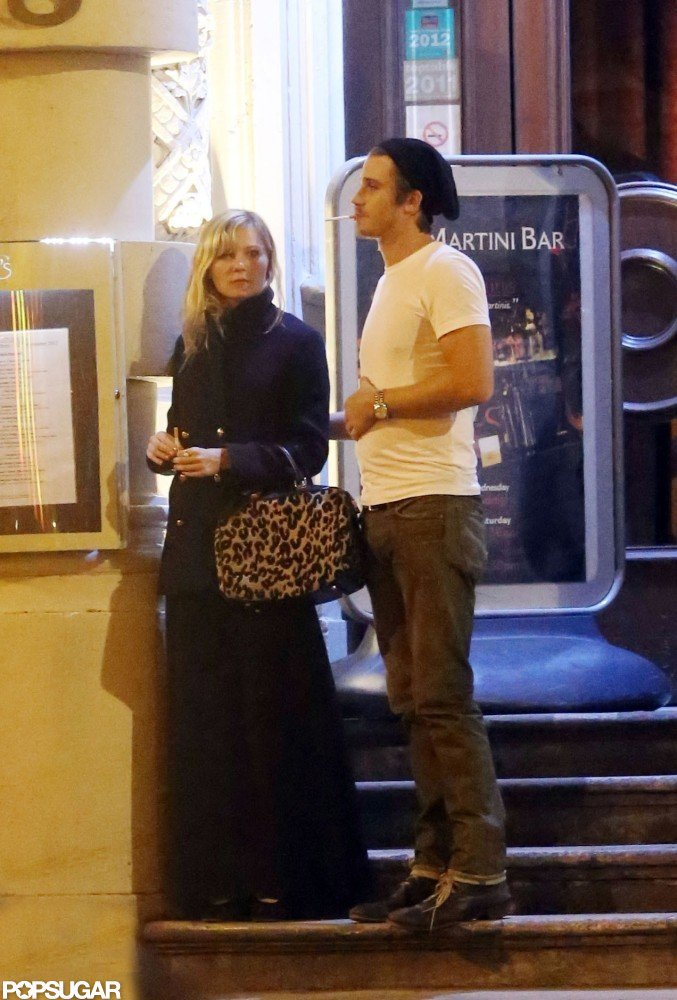 Kirsten Dunst and Garrett Hedlund marked the holiday together in London.