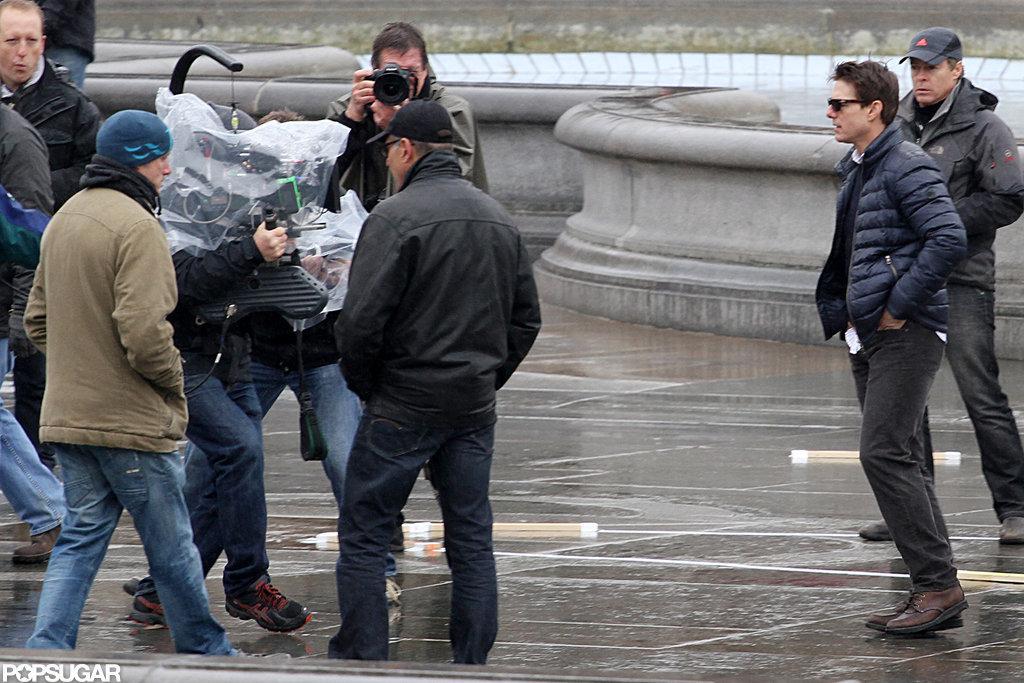 Tom Cruise filmed in London.