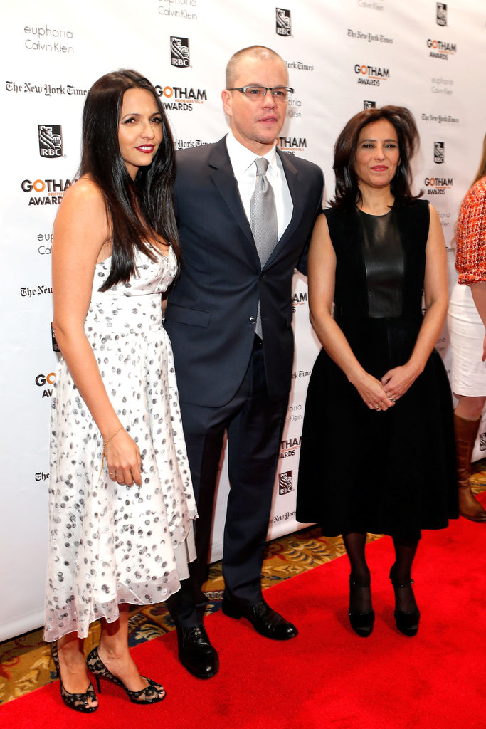 Matt Damon stepped out in NYC for the Gotham Independent Film Awards.