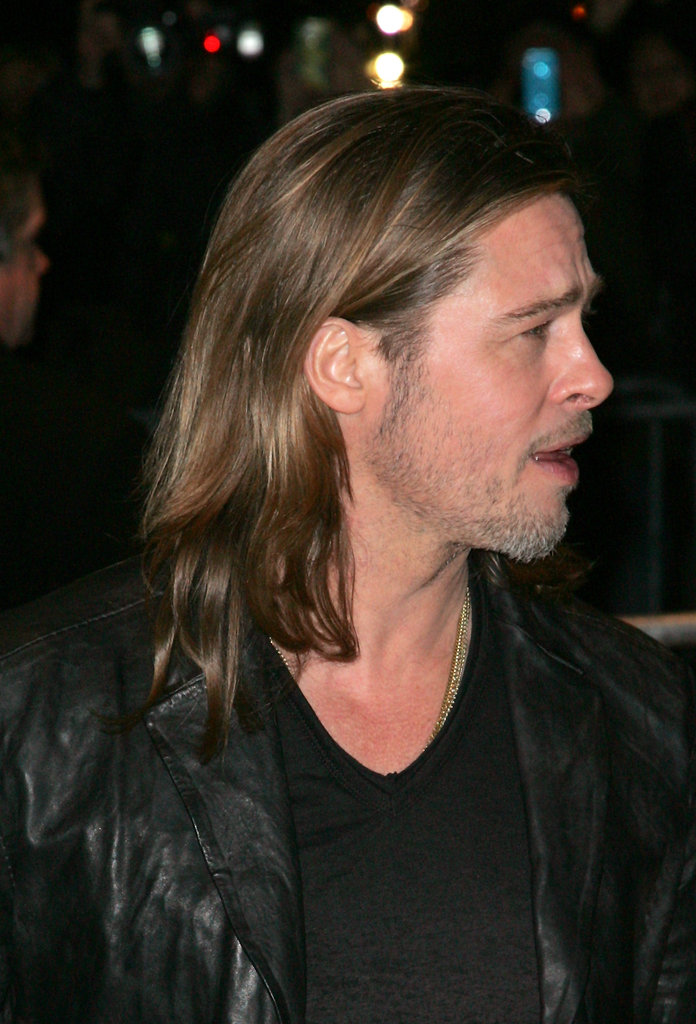 Brad Pitt attended the NYC screening of his latest film Killing Them Softly.
