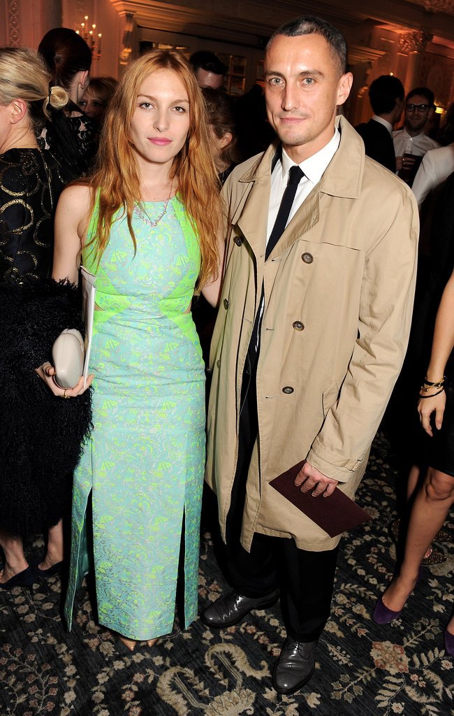 Josephine de la Baume and Richard Nicoll