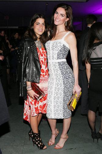 Leandra Medine and Hilary Rhoda