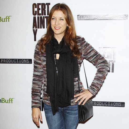 Kate Walsh Wearing Tweed Jacket