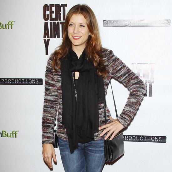 Kate Walsh Wearing Tweed Jacket