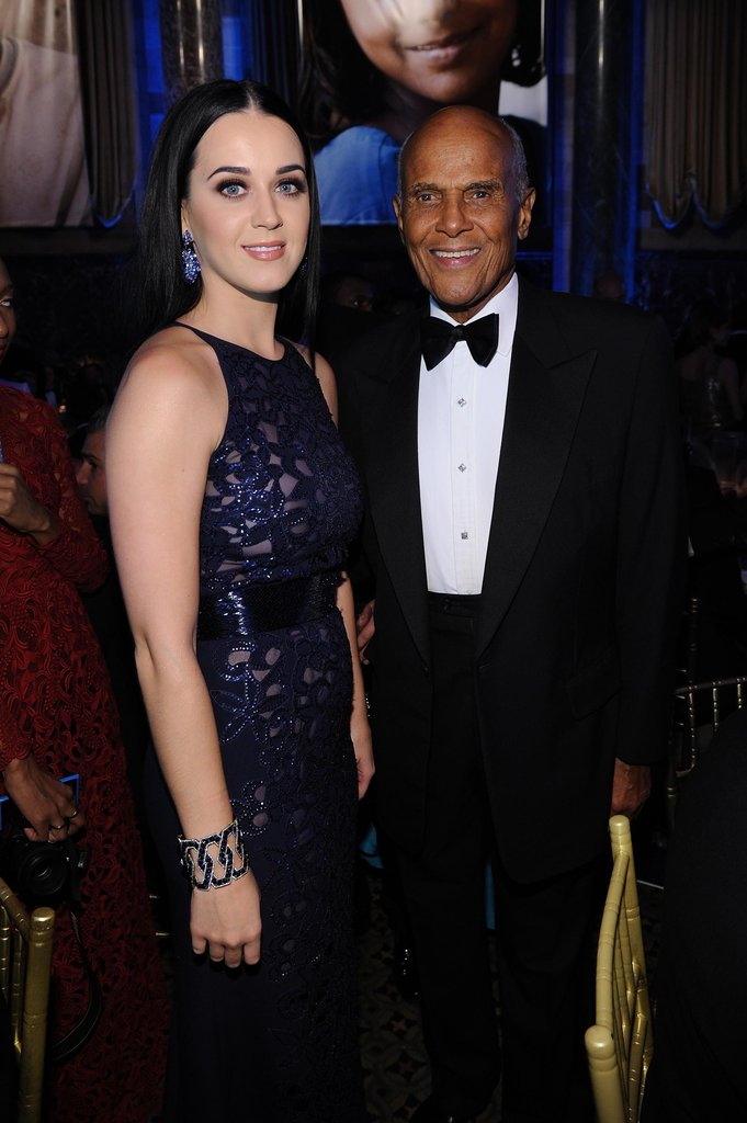 Harry Belafonte and Katy Perry attended the Unicef Snowflake Ball in NYC.