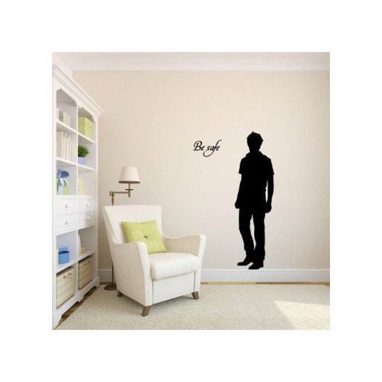 Edward Cullen Twilight Vinyl Wall Decal Sticker Graphic, approx $60