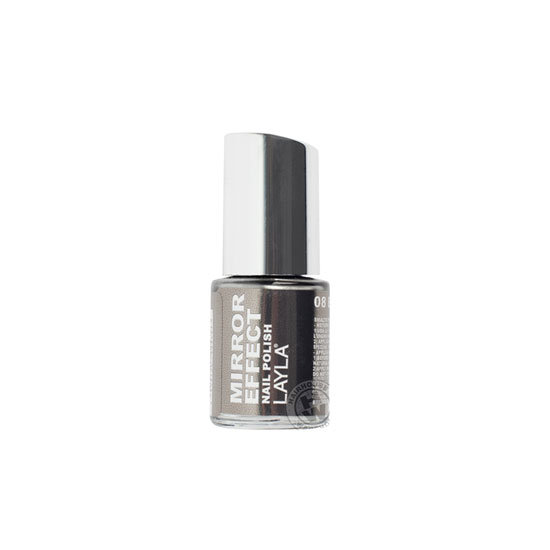 Layla Mirror Effect Nail Polish in Metal Chrome, $19.95