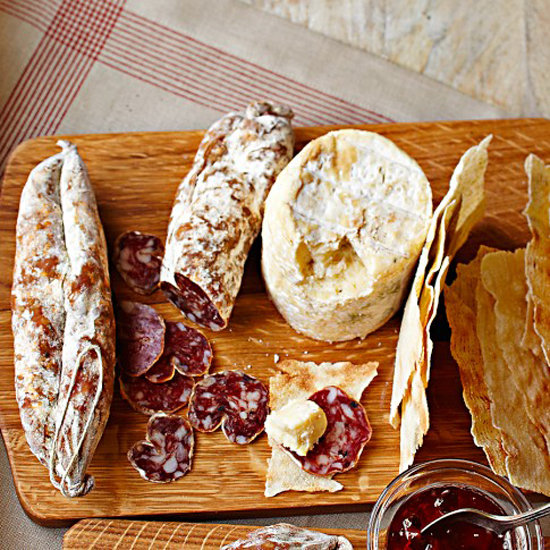 Truffle Cheese and Salami Gift Set