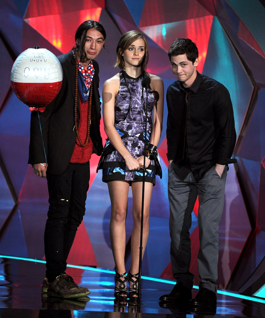 Stephen turned his hand to directing when the book was optioned for a Hollywood film. The movie version stars Logan Lerman (pictured right) as main character Charlie, Emma Watson (middle) as his love interest and Ezra Miller (left) as her step-brother, Patrick.