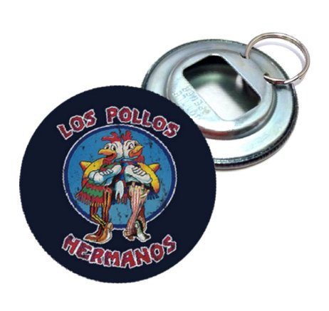 Breaking Bad Los Pollos Hermanos Bottle Opener ($5)