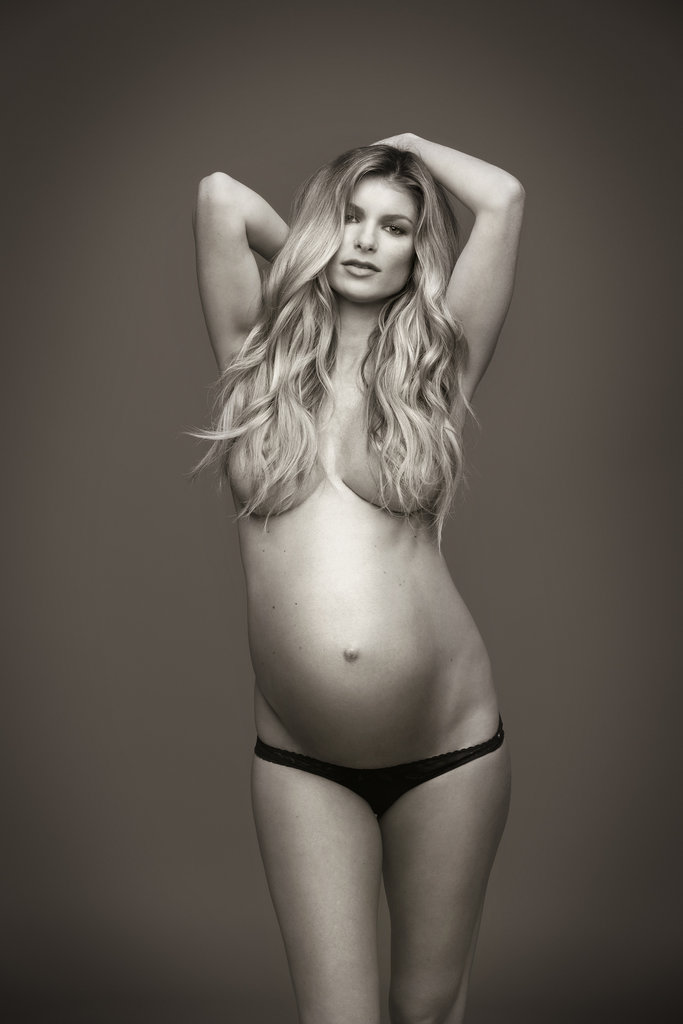 Pregnant Marisa Miller Goes Topless For Allure