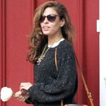 Eva Mendes Is Back in LA — and Looks Winter-Perfect