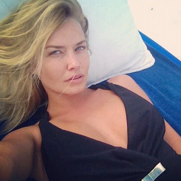 Lara Bingle sunned herself in Mexico. Source: Instagram user mslbingle