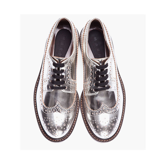 Brogues, approx $458, Miu Miu at SSENSE