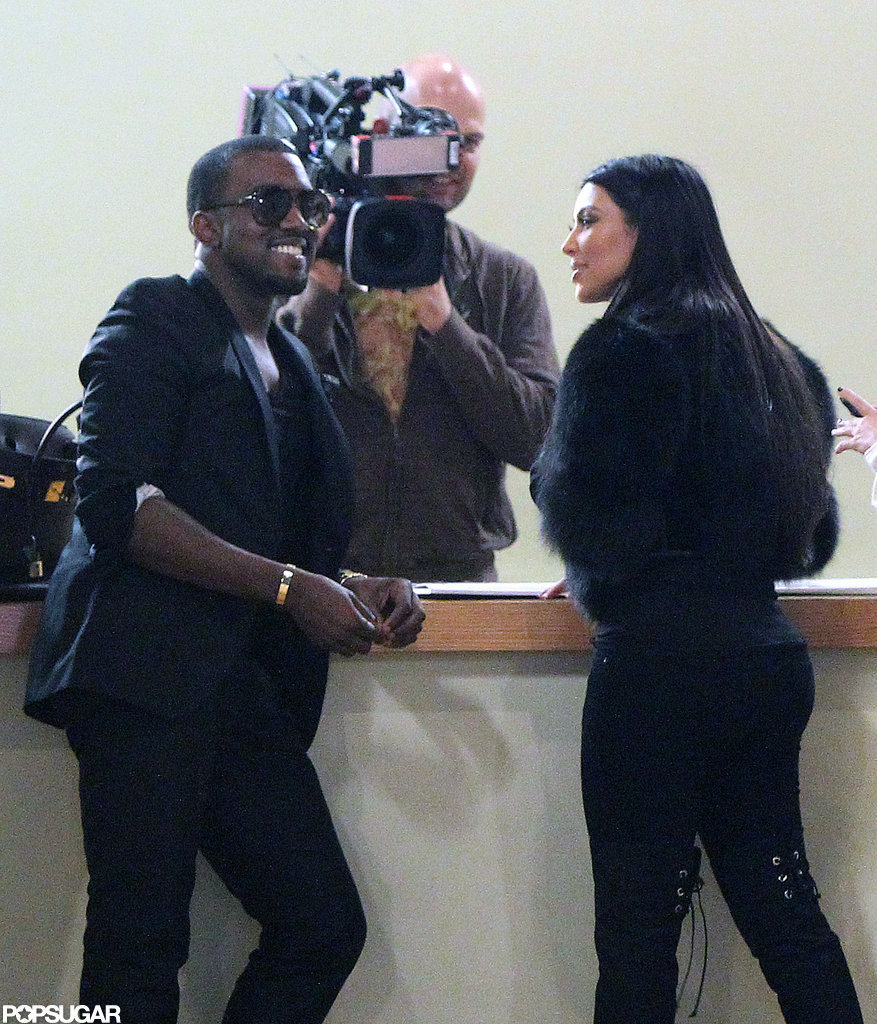 kim kardashian kanye west dating timeline