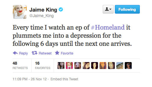 You're not alone in that, Jaime, we promise.