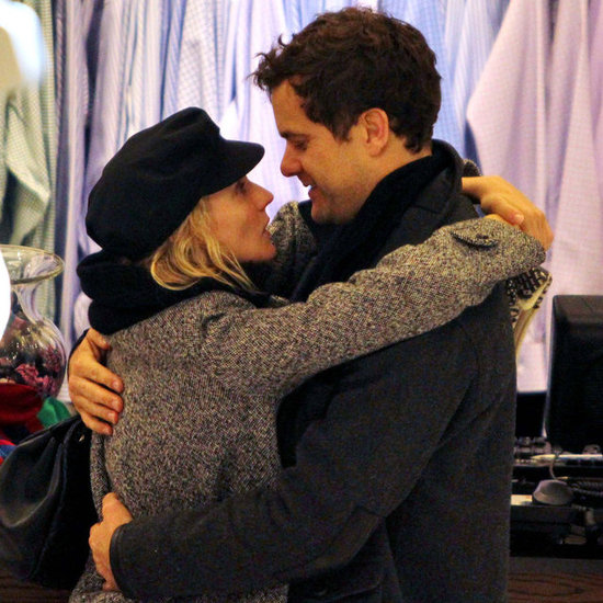 Diane Kruger and Joshua Jackson Kissing in Vancouver