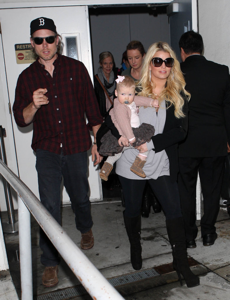 Jessica Simpson and Eric Johnson welcomed their first baby, Maxwell Johnson, in May.