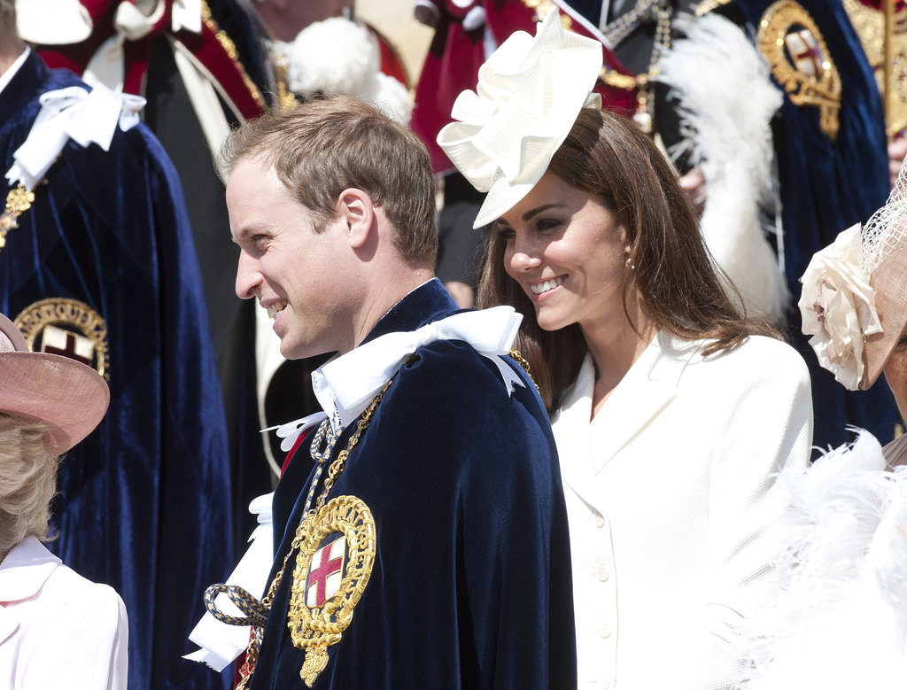 Prince William and Kate Middleton attended the annual Order of the Garter Service at St George's Chapel in June in Windsor, England.