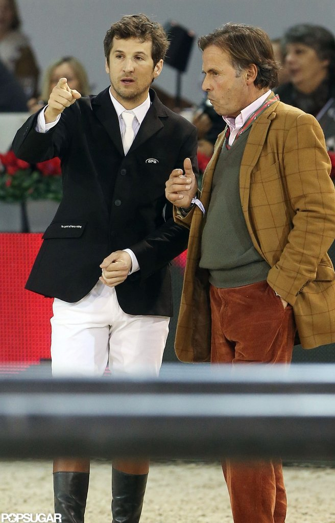 Guillaume Canet participated in the Paris Masters.