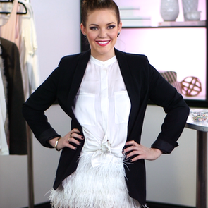 Watch & Learn How-To DIY a Feathered Skirt. It's Easy!