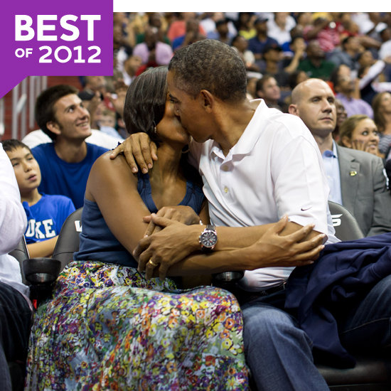 Barack and Michelle Obama PDA 2012