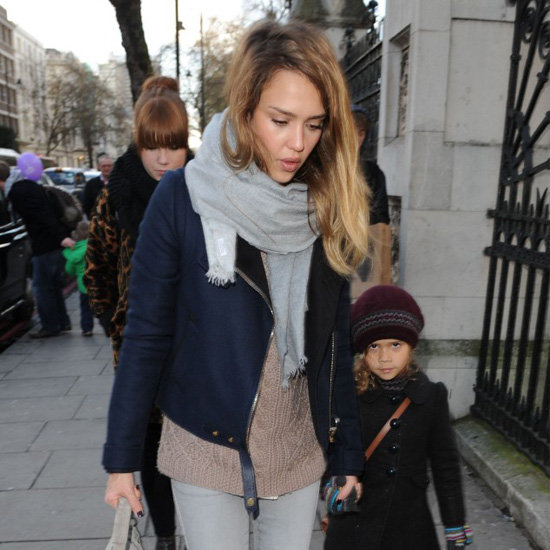 Jessica Alba's London Outfit
