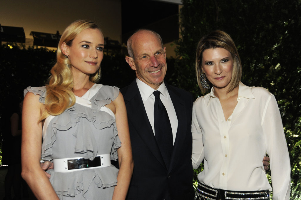 Diane Kruger, Jon Tisch, and Lizzie Tisch smiled at the Museum of Modern Art Film Benefit in NYC.