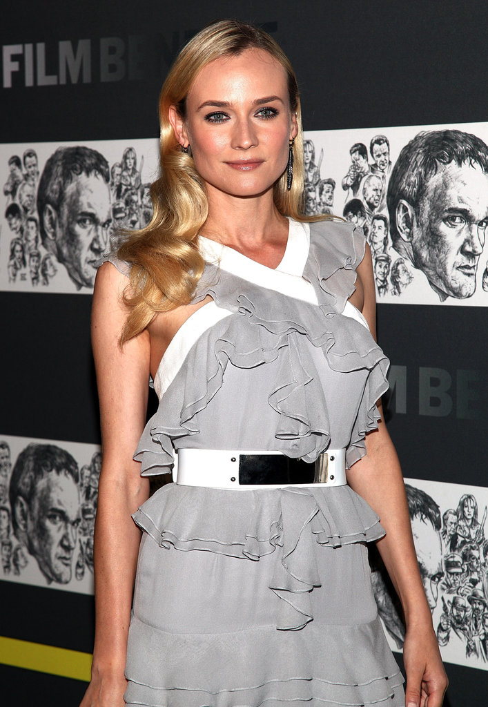 Diane Kruger posed for photos in NYC.