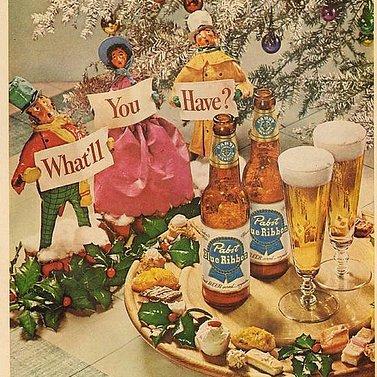 Christmas Beer Ads