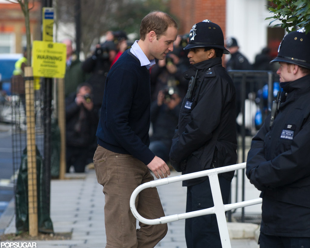 Prince William stepped out in London.