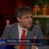 Martin Freeman Stephen Colbert Interview