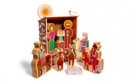 House Industries' Alexander Girard Nativity