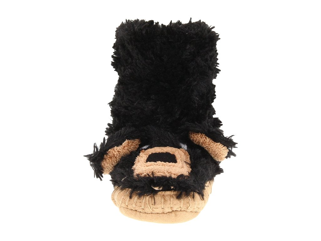 Hatley Kids Black Bear Slippers
