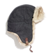 Madewell's faux-fur trapper hat ($50) has an awesome print detail and brown leather buckle that set it apart from the rest of the trapper gang.