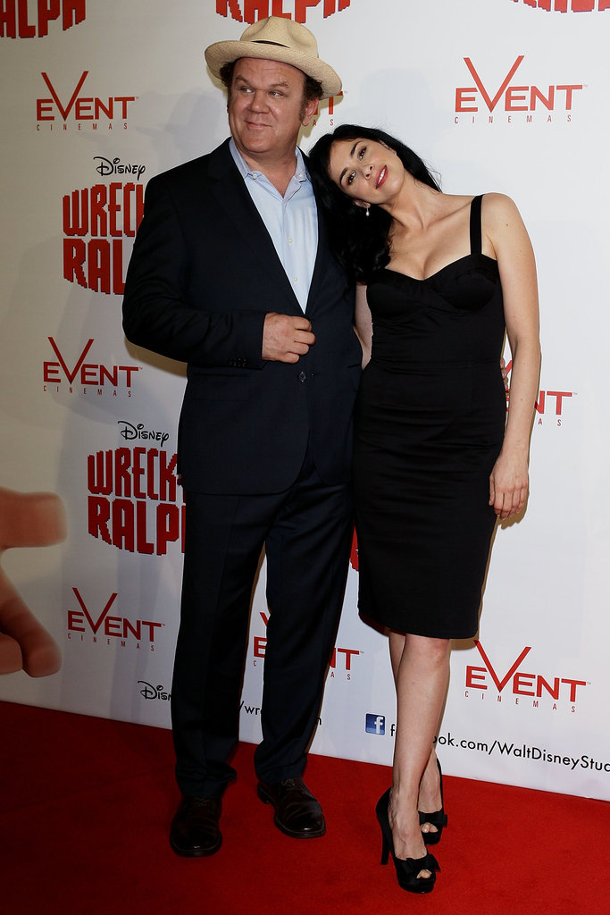 US actors and comedians John C Reilly and Sarah Silverman hit the red carpet in Sydney on December 2, for the premiere of their new animated film, Wreck It Ralph.
