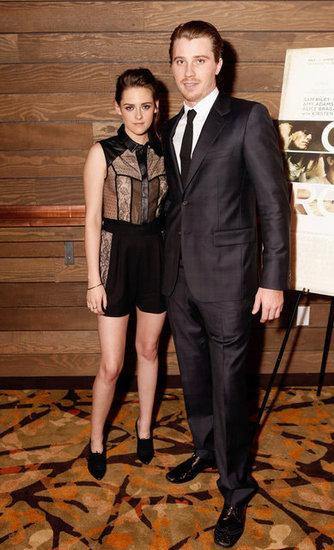 Kristen Stewart Goes Sheer to Screen On the Road With Garrett Hedlund