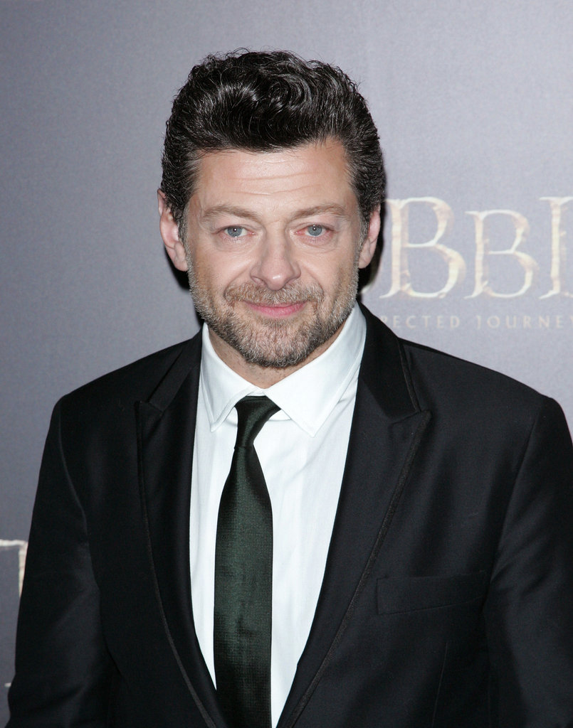 Andy Serkis looked dapper in a tie.