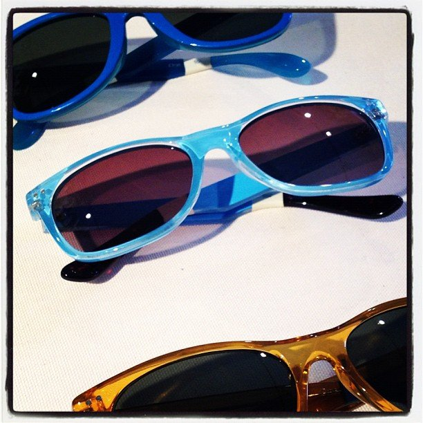 These Toms glasses are sure to brighten up even the dreariest Winter days.