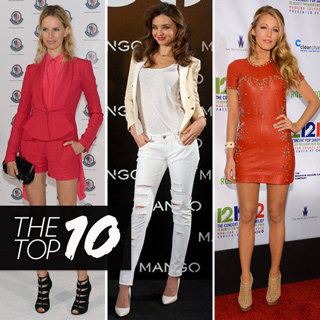 Top 10 Best Dressed Celebrities: Miranda Kerr Olivia Palermo