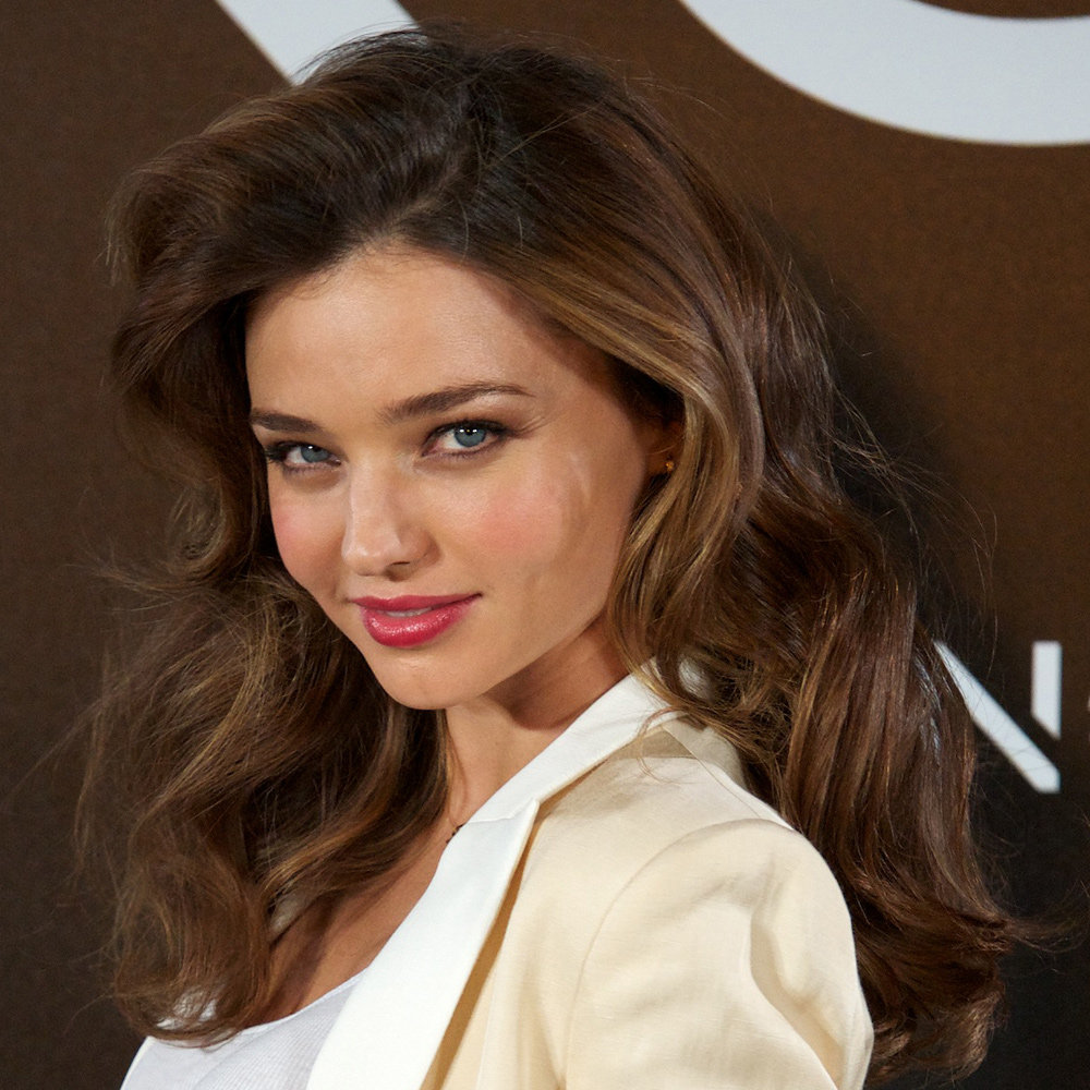Miranda Kerr's big, soft waves