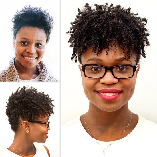 How to Do an Updo With Natural Hair  POPSUGAR Beauty
